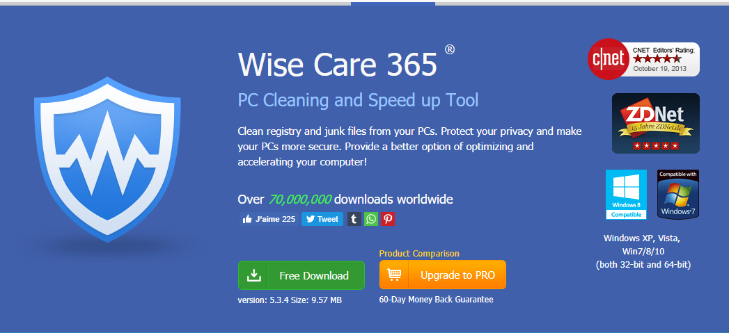 Get Wise Care 365 PRO For free (Giveaway)