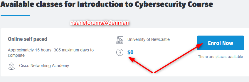 Free Online Course: Introduction to Cybersecurity from University of Newcastle