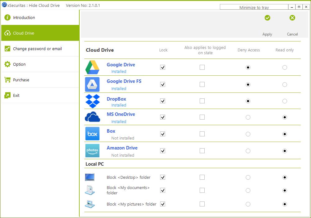 Hide Cloud Drive v2.1.0.4