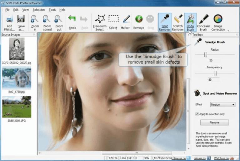 SoftOrbits Photo Retoucher 5.0