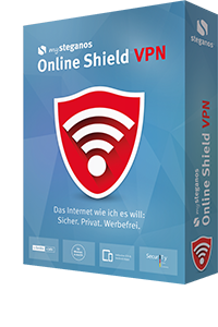 mySteganos Online Shield VPN – unlimited traffic