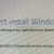 FIX: Windows 10 Installation failed 0x8007025D-0x2000C in the SAFE_OS phase (Solved)