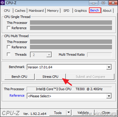 How to stress CPU