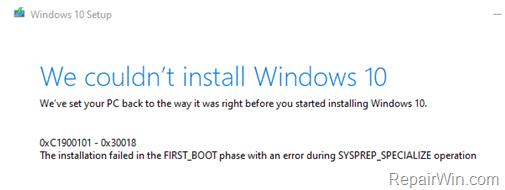 fix:-0xc1900101-0x30018-in-windows-10-update.