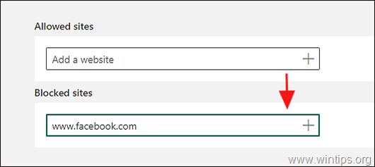 block inapproriate sites Windows 10